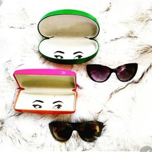 🌟 2 Pairs of Authentic Kate Spade ♠️ Sunglasses